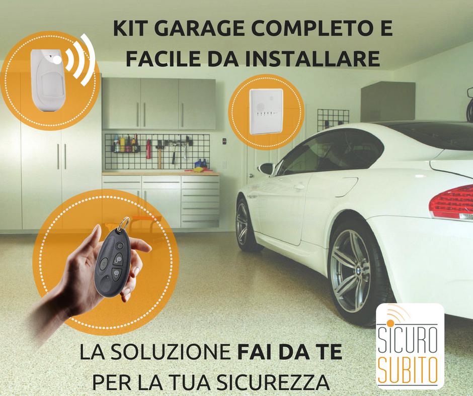Kit allarme garage completo e di facile montaggio for Kit da garage 30x30